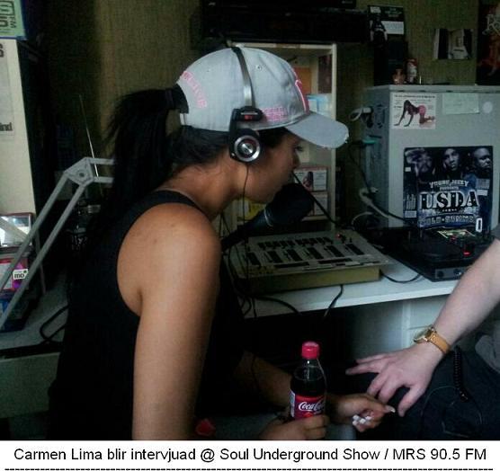 Carmen Lima @ DJ Jens studios