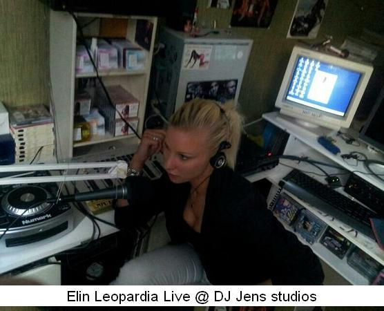 Elin Leopardia @ DJ Jens studios