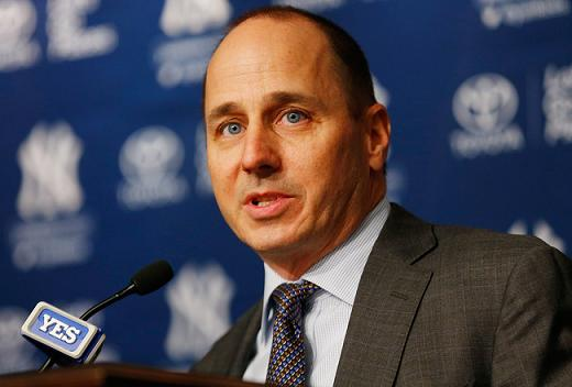 New York Yankees GM Brian Cashman