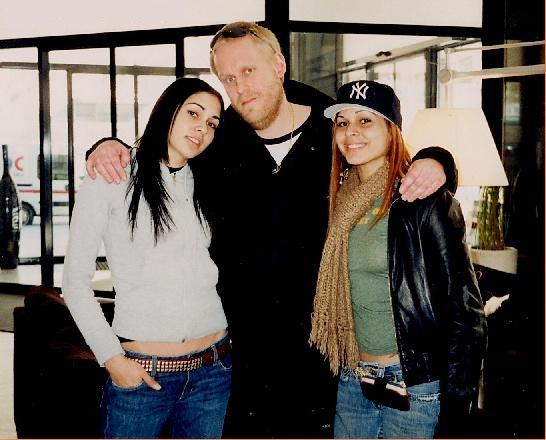 DJ Jens with Nina Sky 2005