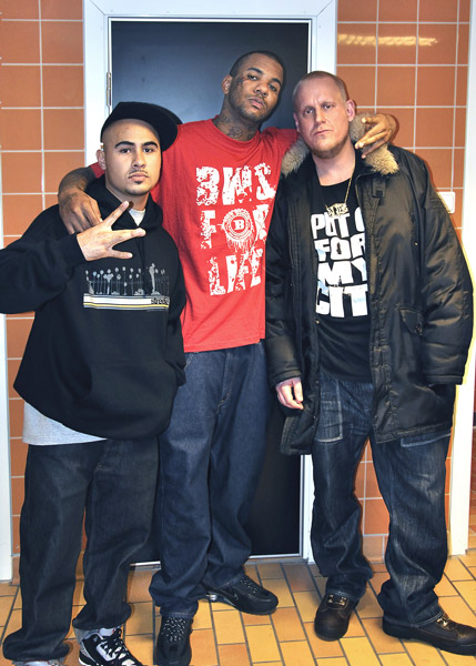 DJ Jens with MDK & The Game 2008