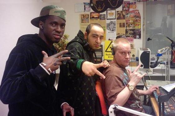 DJ Jens with Mawdo´s Streetwear & Iman Russ 2010