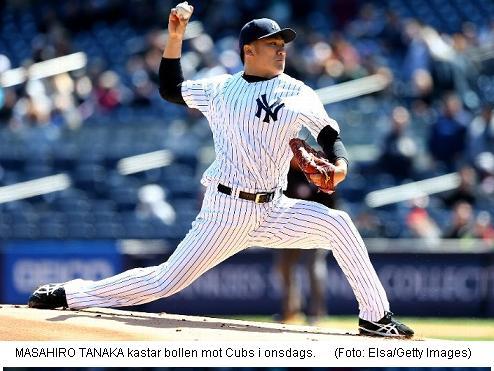 Tanaka vs. Cubs