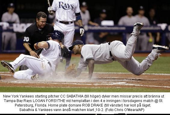 Yankees @ Rays 20140417