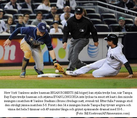 Rays 10 @ Yankees 5 in 14 innings 20140502