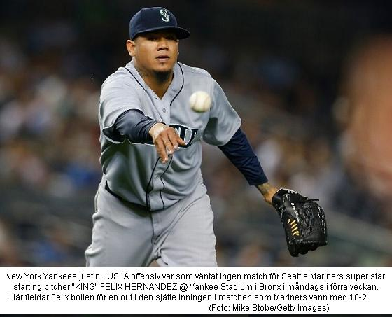 King Felix slog Yankees 20140602