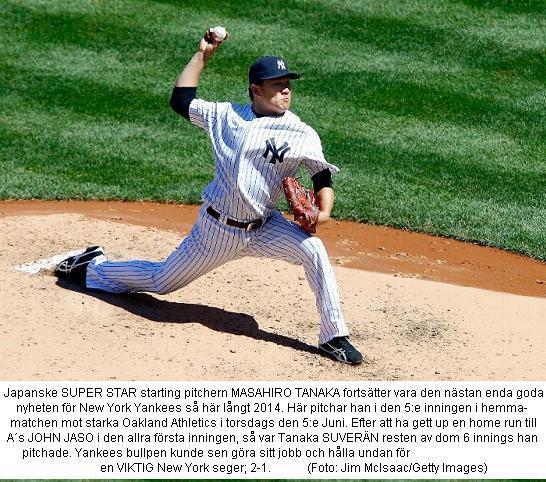 Yanaka & Yankees - Oakland 2-1 - 20140605