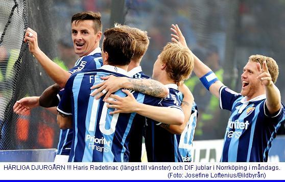 Fotboll, Allsvenskan, Norrköping - Djurgården