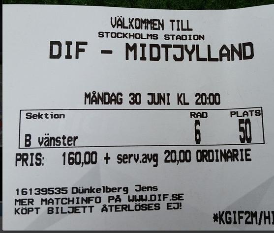 DIF - Midtjylland 0-2 a