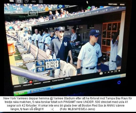 Yankees 41-42 Juli 2014 suck
