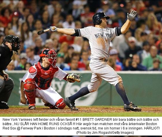 Gardner sänker Red Sox i sjätte 20140803