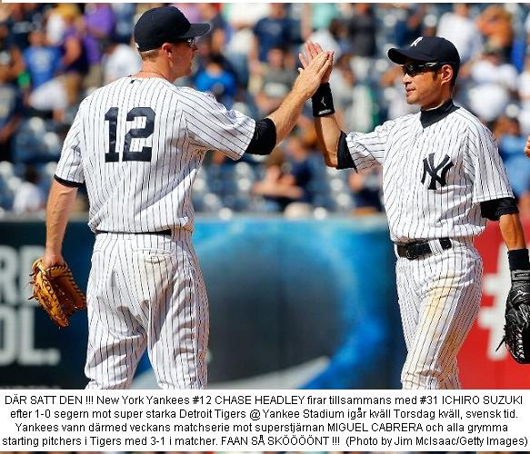 Headley & Ichiro firar vs. Tigers 20140807