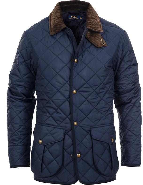 Polo Ralph Lauren Danbury Quilted Jacket Aviator Navy