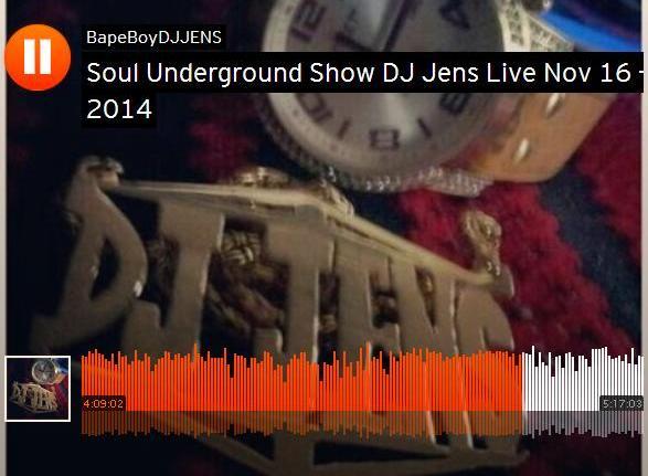 Jens Mannen aka #BapeBoy Live Nov 16 - 2014