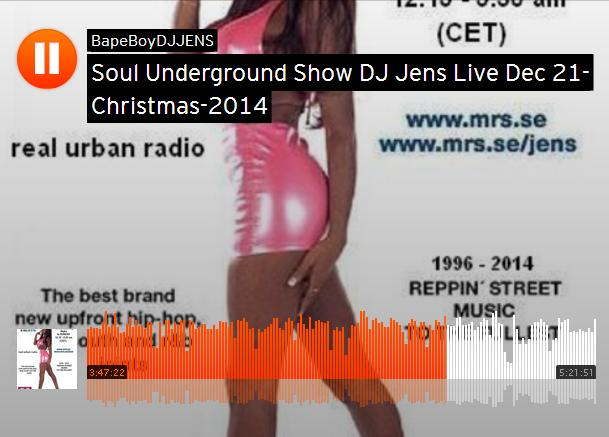 DJ Jens Live Christmas Broadcast 2014 MRS 90.5 FM
