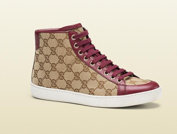The Brooklyn Original GG Canvas High-Top Sneaker by Gucci