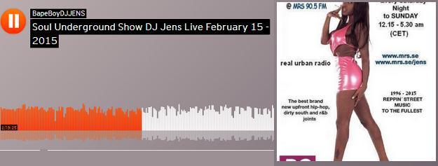 DJ Jens SU Live Feb 15 - 2015