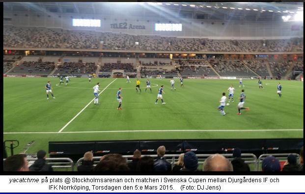 Djurgårdens IF - IFK Norrkoping 3-1 - 20150305