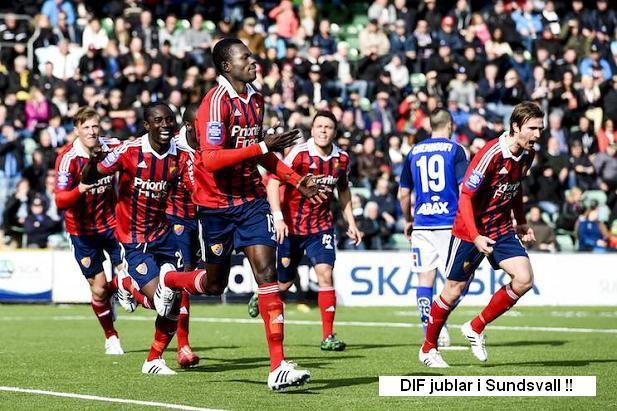 Fotboll, Allsvenskan, GIF Sundsvall - Djurgården