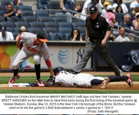 Orioles @ Yankees 20150510