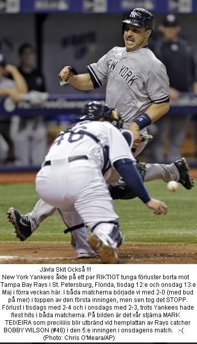 Yankees tungt vs Rays 20150513