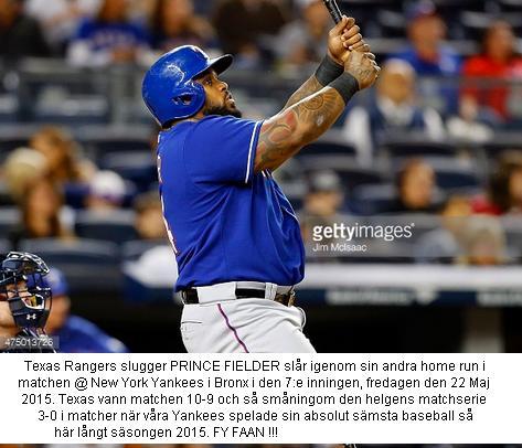 Fielder Förstör För Yankees 20150522