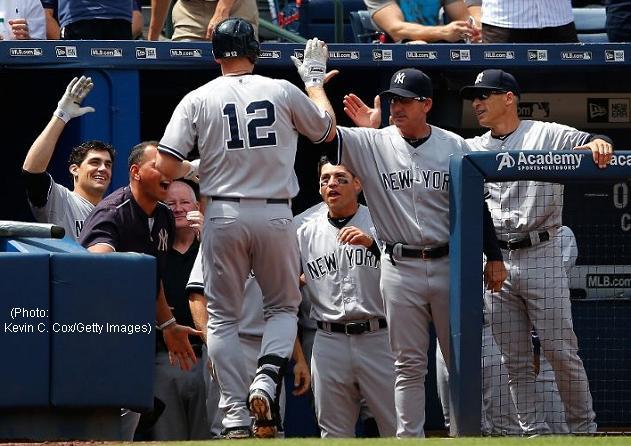 Yankees Jublar i Atlanta 20150830