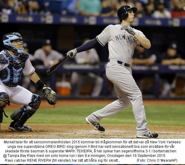 Bird homers in 9th at Rays 20150916