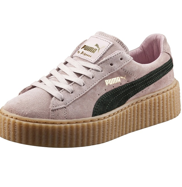 PUMA & RIHANNA Womens Creeper Pink