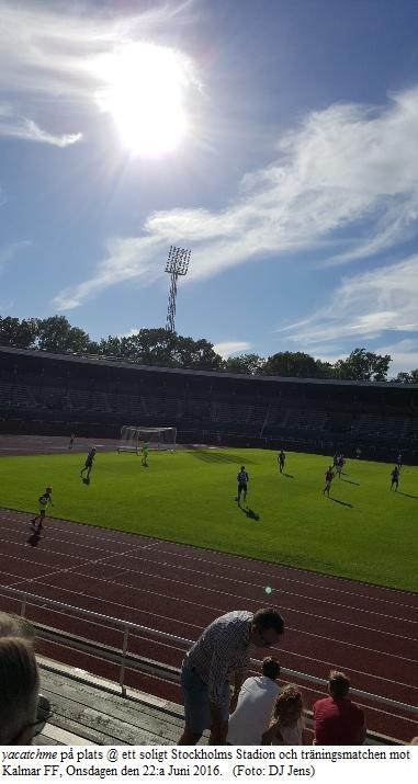 DIF-Kalmar 0-2 traningsmatch 20160622