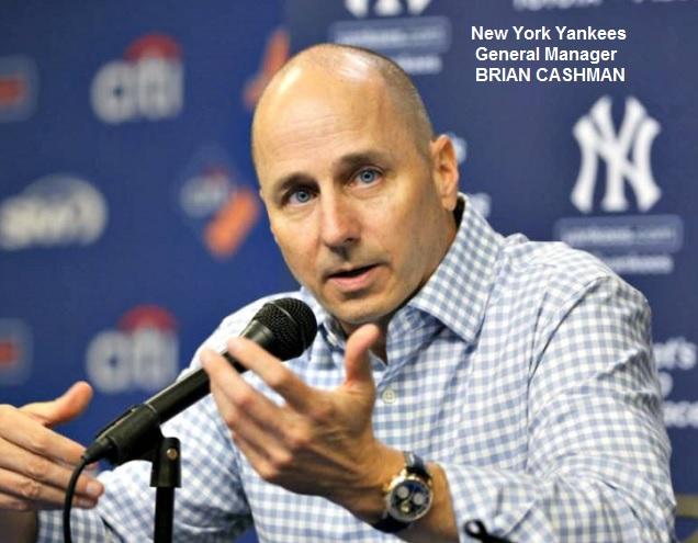 Brian Cashman Yankees Trade Deadline Aug 1 2016
