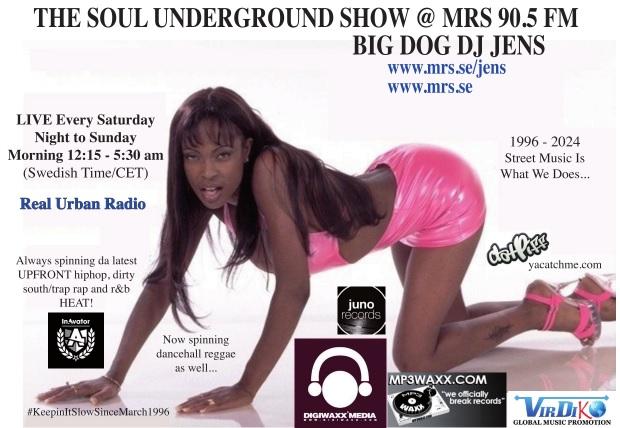 Soul Underground Sticker 1996-2024 original